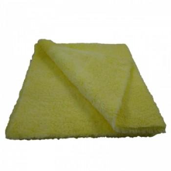 Микрофибра желтая 40х40 двухстороняя